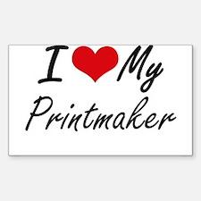 I love my Printmaker Decal