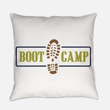 Boot Camp Everyday Pillow