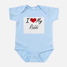I love my Rabbi Body Suit