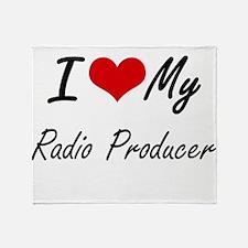 I love my Radio Producer Throw Blanket