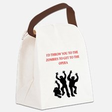 opera Canvas Lunch Bag
