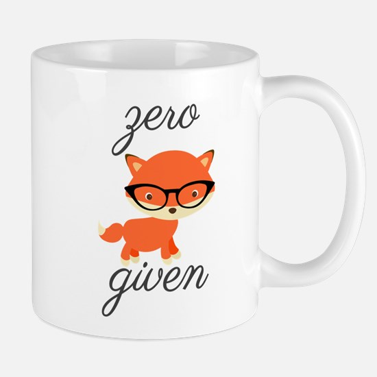 Zero Fox Given Mugs