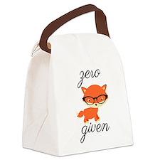 Zero Fox Given Canvas Lunch Bag