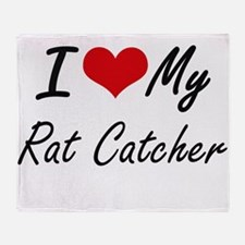 I love my Rat Catcher Throw Blanket
