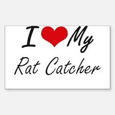 I love my Rat Catcher Decal