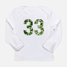 Funny Camouflage Long Sleeve Infant T-Shirt