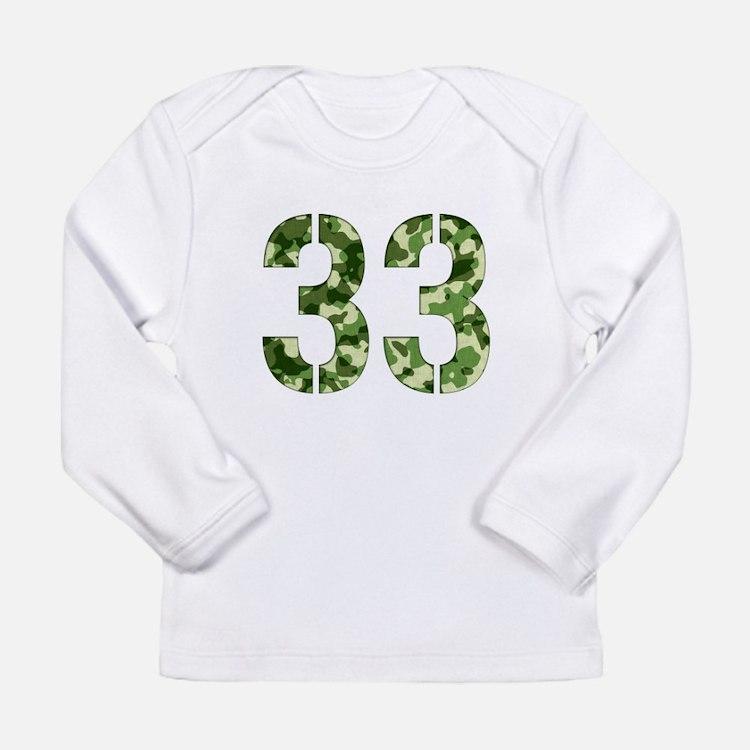 Cute Ewing Long Sleeve Infant T-Shirt