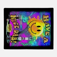 Have A Nice Dab! Throw Blanket