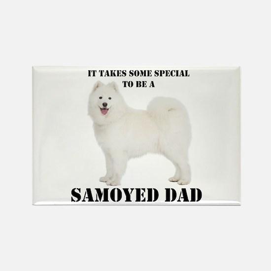 Samoyed Dad Magnets