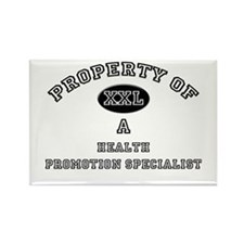 Property of a Health Promotion Specialist Rectangl