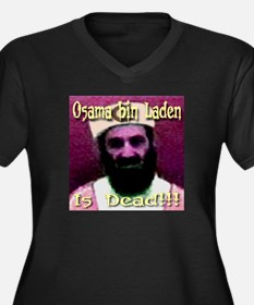 Osama bin Laden Is Dead (Fron Women's Plus Size V-