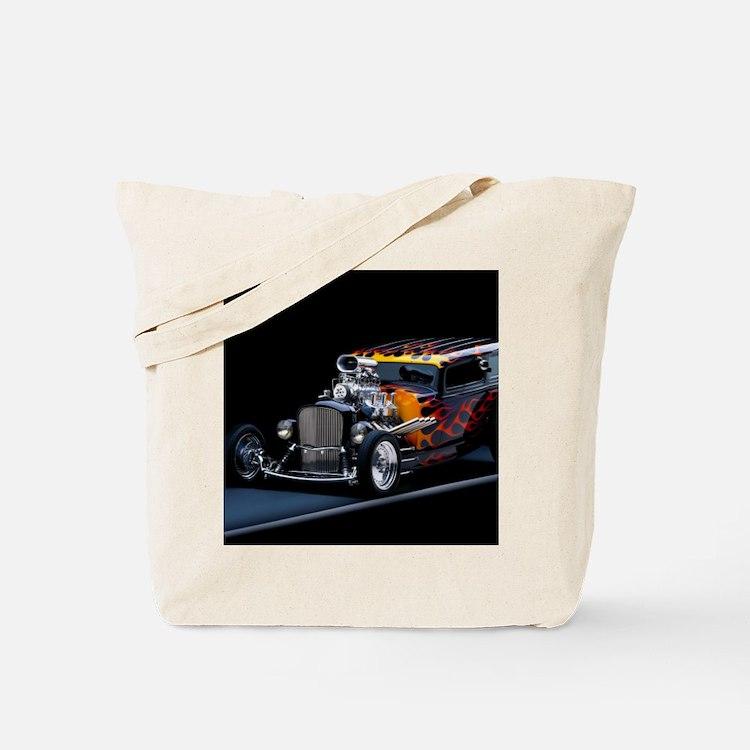 Hot Rod Tote Bag