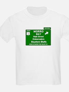 HIGHWAY 1 SIGN - CALIFORNIA - MORRO BAY - T-Shirt