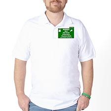 HIGHWAY 1 SIGN - CALIFORNIA - MORRO BAY T-Shirt