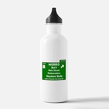 HIGHWAY 1 SIGN - CALIF Water Bottle
