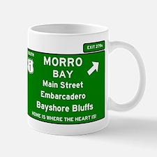 HIGHWAY 1 SIGN - CALIFORNIA - MORRO BAY - MAI Mugs