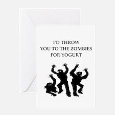 yogurt Greeting Cards