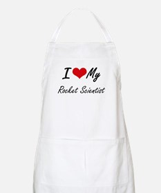 I love my Rocket Scientist Apron