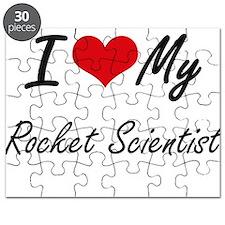 I love my Rocket Scientist Puzzle