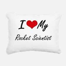 I love my Rocket Scienti Rectangular Canvas Pillow