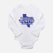 Unique Austin texas Long Sleeve Infant Bodysuit