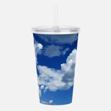 Floating In the Clouds Acrylic Double-wall Tumbler