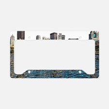 Cute Pittsburgh city License Plate Holder