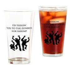 shrimp Drinking Glass