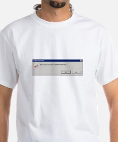 Delete Windows? T-Shirt