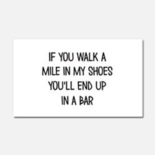 End up in a Bar Car Magnet 20 x 12