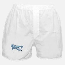 Beluga Whale and Baby Boxer Shorts