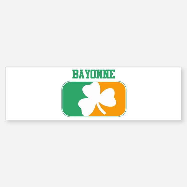 BAYONNE irish Bumper Bumper Bumper Sticker