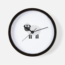 Cute Sheep Wall Clock