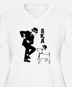 Rude Boy and Winston Plus Size T-Shirt