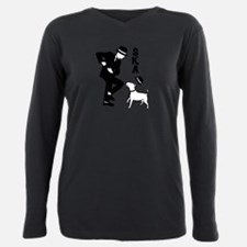 Rude Boy and Winston Plus Size Long Sleeve Tee