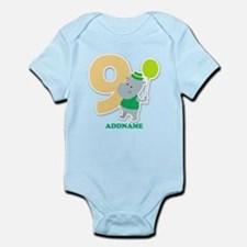 9th Birthday Personalized Name Onesie