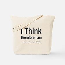 Funny Free thinker Tote Bag