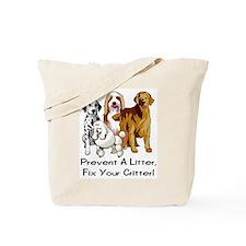 Prevent A Litter Tote Bag