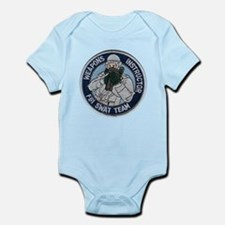 FBI Weapons Instructor Infant Bodysuit