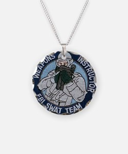 FBI Weapons Instructor Necklace