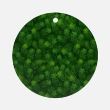 Evergreen Promise Round Ornament