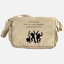 hot dog Messenger Bag