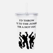 hot dog Acrylic Double-wall Tumbler