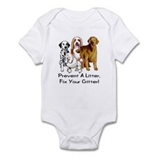 Prevent A Litter Infant Bodysuit