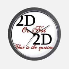 Cool 3d animation Wall Clock