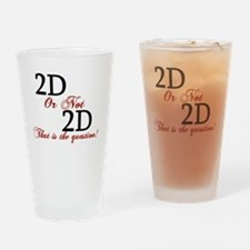 Cute 3d animation Drinking Glass