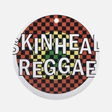 Skinhead Reggae Round Ornament