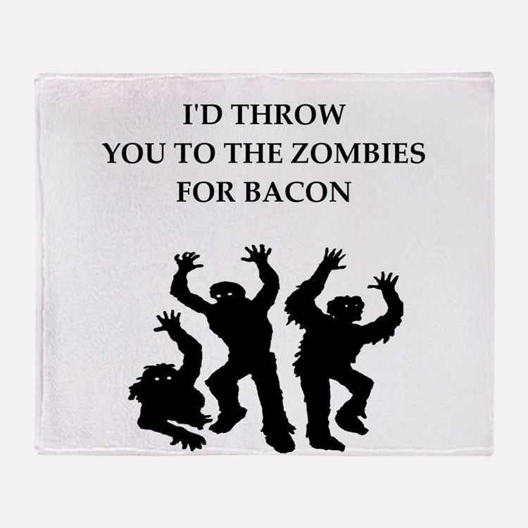 bacon Throw Blanket
