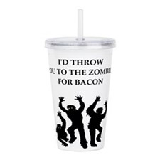 bacon Acrylic Double-wall Tumbler