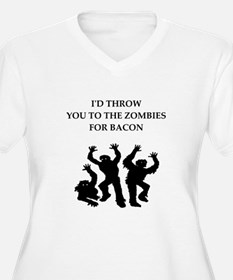 bacon Plus Size T-Shirt